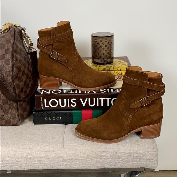 b8fd0d1f1 Polo Ralph Lauren Mollie Suede Boots. M 5bd77d06534ef9677447d801